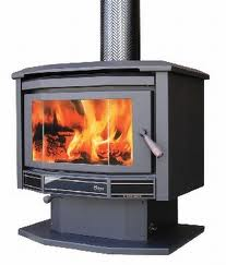 wood heater and heating